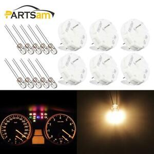 6pcs Instrument Cluster Stepper Motors Repair Kit X27 168 X27 168 Light Bulbs