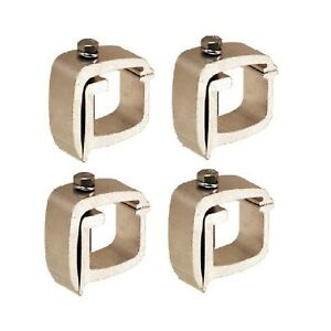 Api Truck Cap Clamps Kh1 Universal 2 Pair King Of Hearts 1 1 8 Top Bolt Clamp