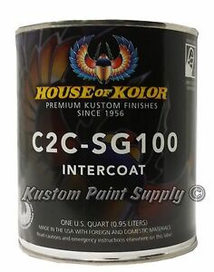 House Of Kolor C2c Sg100 Shimrin2 Intercoat Clear 1 Quart