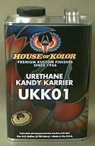 House Of Kolor Ukk01 Urethane Kandy Karrier 1 Gallon