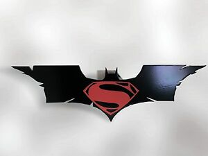 Trailer Hitch Cover Batman Superman Man Of Steel New Free Ship