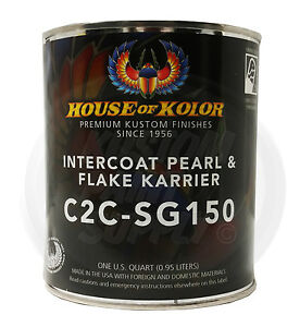 House Of Kolor C2c sg150 Intercoat Pearl And Flake Karrier 1 Quart