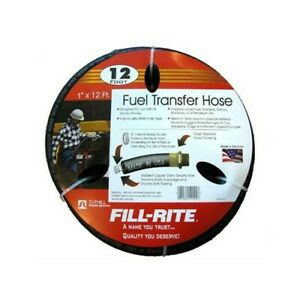 Tuthill fill rite Frh10012 Fuel Transfer Hose 1 inchx 12