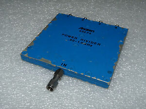 Anaren 40274 Power Divider 4 way In Phase Sma Connections 50 1 0 Ghz