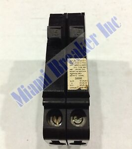 Mh215 Crouse hinds Type Mh Circuit Breaker 2 Pole 15 Amp 240v