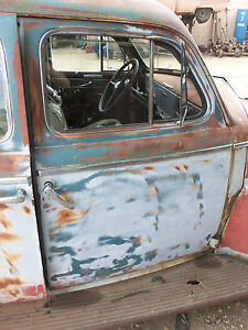 40 Pontiac Chevy Olds Oldsmobile Right Front Passengers Side Door Shell