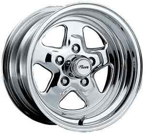 Pacer 521p Dragstar 521p 5773 Single Rim 15x7 0mm Offset 5x127 Polished