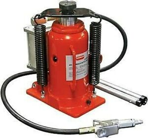 Lot Of Two 12 Ton Hydraulic Air Bottle Floor Jack Automotive Shop Lift Tool
