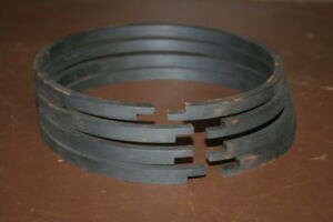 Piston Ring Step Cut Worthington Compressor Size 6 3 4x11 Unused Lot Of 4