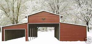 42x31 Steel Garage Storage Building Installed Free Delivery prices Vary