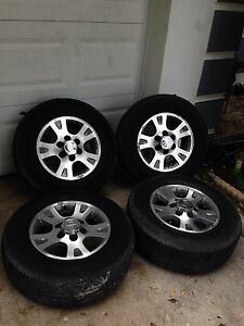 Set 4 Rims 16 With Tire