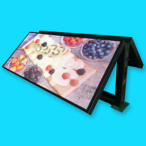 P16 Mm Full Color High Res Led Sign Programmable Outdoor Led Display 48 X 93
