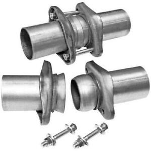 Flowmaster 15930fm Universal 3 To 3 Header Collector Ball Flange Exhaust Kit