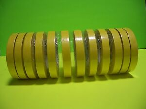 3m 6652 3 4 Yellow Masking Tape 12 Rolls 1 Sleeve 06652
