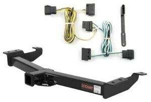 Curt Class 4 Trailer Hitch Custom Wiring Harness For Ford E150 E250 E2350 Sd