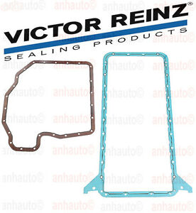 Oem Upper Lower Engine Oil Pan Gasket Set Bmw E31 E32 E34 E38 E39