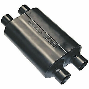 Flowmaster 9525454 Universal Super 40 Series Muffler 2 5 Dual In Dual Out