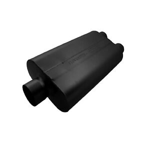 Flowmaster 9430502 Universal 50 Series Df Muffler 3 Center In 2 5 Dual Out