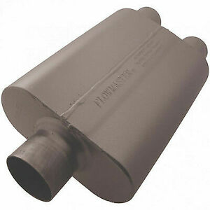 Flowmaster 80430402 Universal 40 Series Muffler 3 Center In 2 5 Dual Out