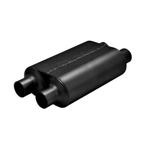 Flowmaster 8525454 Universal Super 40 Muffler 2 5 Dual In 2 5 Dual Out