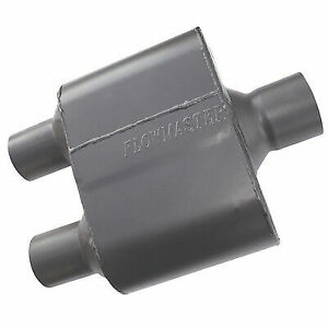 Flowmaster 8425152 Universal Super 10 Muffler 2 5 Center In 2 25 Dual Out