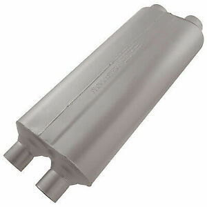 Flowmaster 524704 Universal Muffler 70 Series 2 25 Dual In 2 25 Dual Out