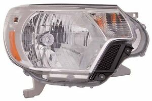2012 2013 Toyota Tacoma New Right Passenger Side Headlight Assembly