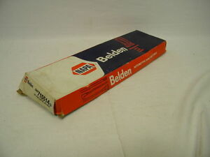Nos Belden Napa 715514 Top Post Battery Cable 55 Inch Long 4 Gauge Wire