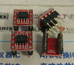 1x Opa827 Soic To Dip8 Low noise High precision Jfet input Op Amp