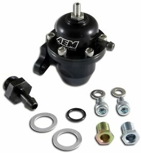 Aem Electronics 25 301bk Fuel Pressure Regulator For Acura Cl Honda Accord