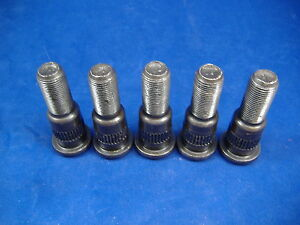 M813 M809 M54a2 5 Ton Set Of 5 Left Hand Wheel Studs Rockwell Axles Military