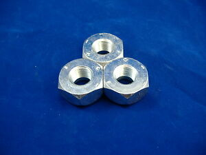 M813 M809 M54a2 5 Ton Set Of 3 Left Hand Front Lug Nuts Rockwell Axles M923 M939