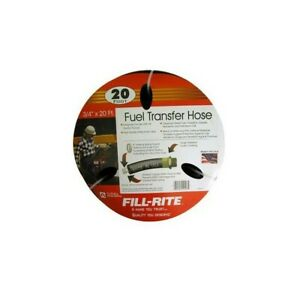 Tuthill fill rite Frh07520 Fuel Transfer Hose 20 feet By 3 4 inch