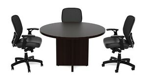 New Amber 36 Office Round Meeting conference side Office Table