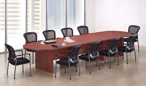 New Amber 16 Racetrack Conference boardroom meeting Room Office Table