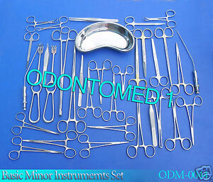 Minor Basic Instrument Set Orthopedic Surgical Forceps Ds 969