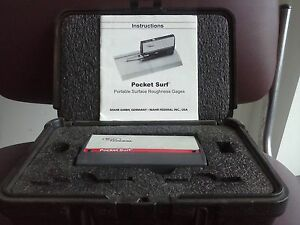 Mahr Portable Surface Roughness Tester