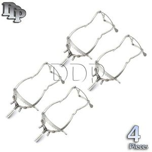 4 Pieces Of Whitehead Mouth Gag 6 Dental Veterinary Surgical Ddp Instruments