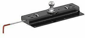 Curt 60615 Under Bed Double Lock Gooseneck Hitch 30000 Lb Gtw