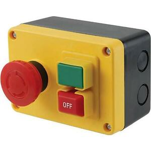 Magnetic On Off Power Machine Switch Surface Mounted Rated To 1 2 Hp 120v 16a