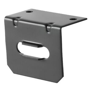 Curt 58300 Connector Mounting Bracket For 4 Way Flat Wiring
