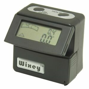 Digital Angle Inclinometer Gage And Digital Spirit Level Flip Up Display