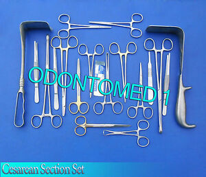 Cesarean Section Surgical Instruments Kit ds 603
