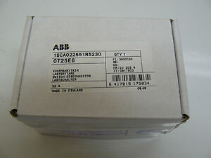 New Abb Ot25e6 Disconnect Switch 32 Amp