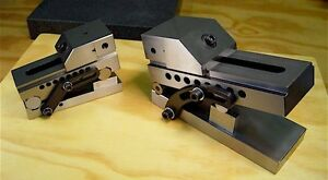 Holiday Special Brand New 3 Precision Sine Vise And 2 Precision Sine Vise