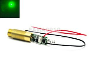 New Industrial lab 3 7 4 2v 532nm Green Laser 200mw Module Diode Laser W driver