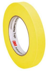 Automotive Refinish Masking Tape 18 Mm X 55 M 3m 6652 Brand New