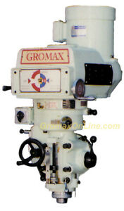 Gromax Milling Machine Head variable Speed 3hp R8 Spindle Mh v100