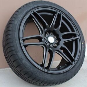 18 Niche Racing Wheel Tire Pkg For Honda Civic Accord Lexus Is250 300 Camry