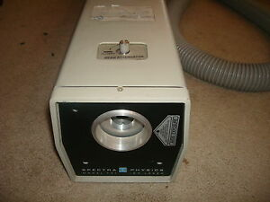 Vintage Spectra Physics Model 171 Krypton Ion Laser W Power Cord 0074 0101